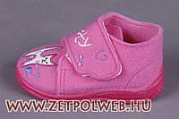 Войлочные тапочки розовые 20 (12,8 см) Zetpol Моника 263