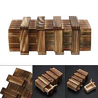 Деревянный ящик головоломка!