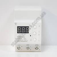 ZUBR D40t - реле контроля напряжения, с термозащитой