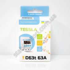 TESSLA D63t - реле напряжения, барьер, АВР, отсекатель, с термозащитой, фото 3