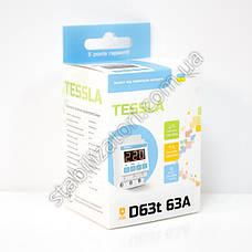 TESSLA D63t - реле напряжения, барьер, АВР, отсекатель, с термозащитой, фото 2