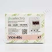 HS-Electro УКН-40с ( т ) - реле напряжения, с термозащитой
