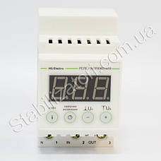 HS-Electro УКН-40с ( т ) - реле напряжения, с термозащитой, фото 3