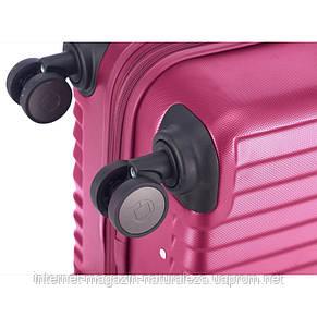 Чемодан на колесиках ТМ Hauptstadtkoffer Kotti Mini розовый матовый, фото 3