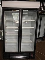 Холодильный шкаф с распашными стеклянными дверьми Interбу