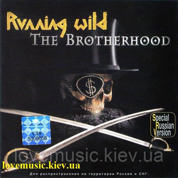 Музичний сд диск RUNNING WILD The brotherhood (2002) (audio cd)