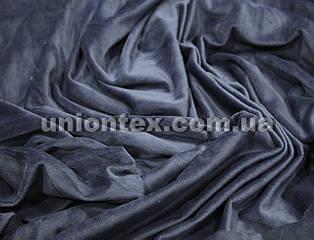 Ткань вельбо синяя распродажа