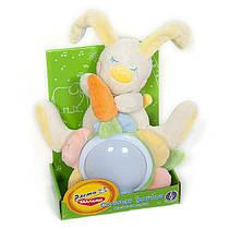 Мягкая игрушка музыкальный светильникСонный зайчик (ЗНЦ0\М) Расти малыш MOMMY LOVE