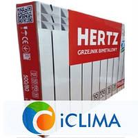 Радиатор HERTZ 500/80 биметалл