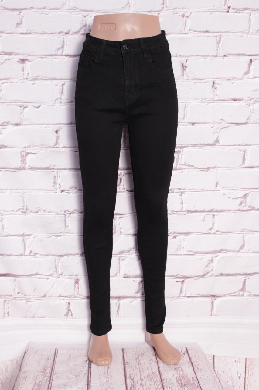7f0fdbb268c Женские джинсы американка черные Burning (Код  809) - Интернет-магазин