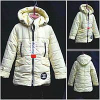 Демисезонная куртка для девочек, разные цвета, рост 128-152 см., 600/530 (цена за 1 шт. + 70 гр.)
