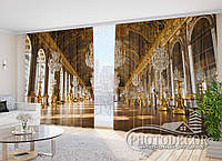 "Фото Шторы в зал ""Версаль"" 2,7м*2,9м (2 половинки по 1,45м), тесьма"