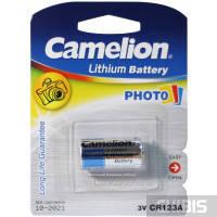 Батарейка Camelion CR 123 Lithium Battery Photo 3V 1/1 шт.