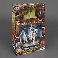 Набор пиратов 344-11 (24/2) свет, звук, на батарейке, в коробке