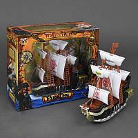 Набор пиратов 351-1 (18/2) свет, звук, на батарейке, в коробке
