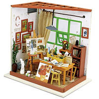 Кукольный домик «сделай сам». «Мастерская художника»