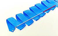 Лента для художественной гимнастики (лента - 3,3м, палочка-пластик - 40см)