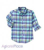 Gymboree Рубашка в голубую клетку, Plaid shirt