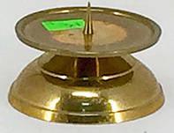 Подсвечник латунный.. (7850.1)