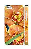 """Пластиковый чехол """"iDAY"""" Цветы - орхидея для iPhone 5C"""