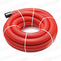 Труба двустенная 40/32 красная для подземной укладки