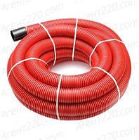 Труба двустенная 50/41.5 красная для подземной укладки