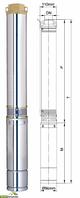 Насос центробежный Aquatica (DONGYIN) 1.5кВт H 130(82)м Q 100(70)л/мин Ø96мм Насос центробежный 1.5кВт H 130(82)м Q 100(70)л/мин ?96мм  dongyin 777134