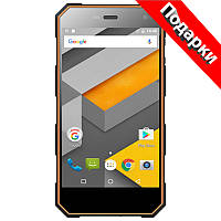 "Смартфон 5"" NOMU S10, 2GB+16GB Черно-оранжевый 4 ядра Камера Sony IMX219 Exmor RS 8 Мп + селfи в подарок"