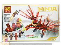"""Конструктор Lele """"Ninja"""" 31016 """"Нападение дракона"""" , 319 дет"""