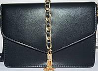 Женский брендовый клатч Michael Kors 20*14 черный