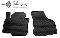 Stingray Модельные автоковрики в салон Skoda Octavia II A5 2004-2013 Комплект из 2-х ковриков (Черный)