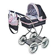 Классическая коляска для куклы DeCuevas 80214 высота 90 см