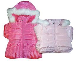 Куртка утепленная для девочек, возраст 1-5 лет, F&D, арт. 859G
