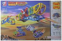 Магнитный конструктор Magnetic Космический транспорт 5001: 96 деталей