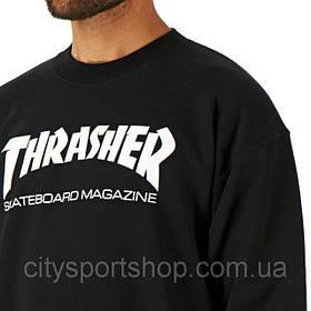 Свитшот с принтом THRASHER Skate Mag Ориг Бирка | Кофта мужская с пикой