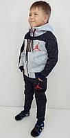 Стильный тёплый спортивный костюм A I R от 104 до 170 см.рост, фото 1