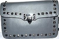 Женская брендовая сумочка-клатч Michael Kors 24*16 серый