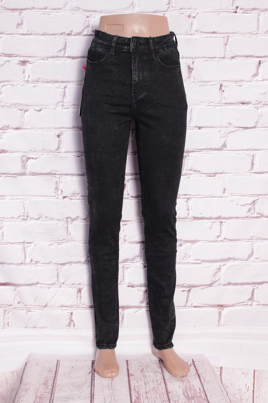 Женские джинсы с высокой посадкой Faxunhong (Код: AH06)