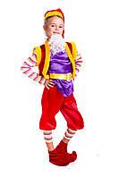 Новогодний костюм Лесной гном фиолетовый