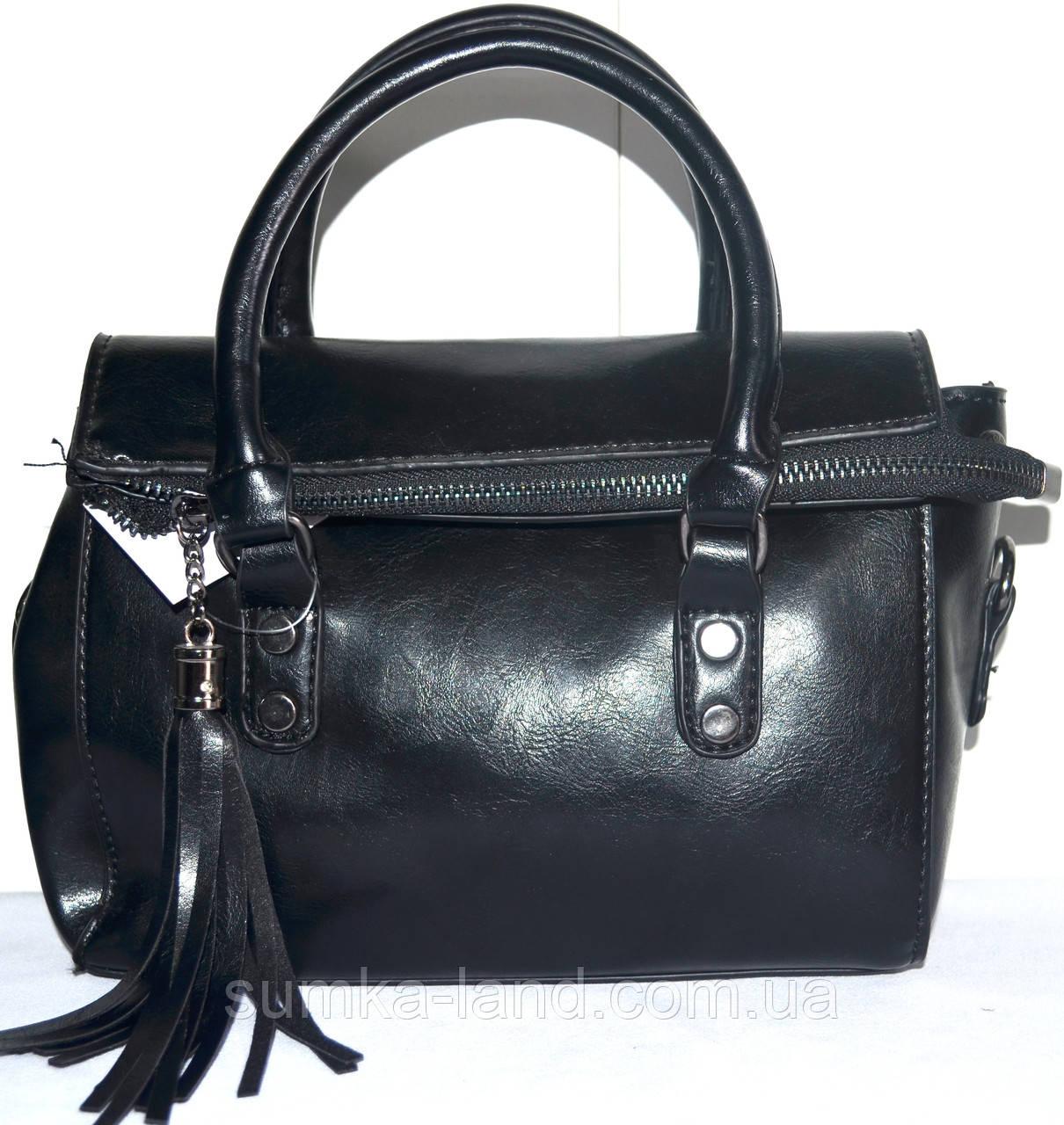 Женские маленькие сумочки 21*17 черный