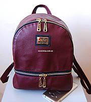 Женский кожаный рюкзак. Выбор цветов! Женский мини рюкзак Moschino! Сумка портфель. РД202