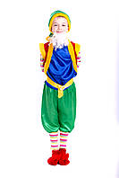 Детский карнавальный костюм Лесной гном синий