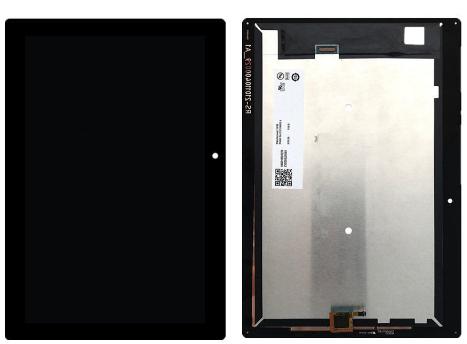 Дисплей (экран) для Lenovo A10-30 Tab 2 10.1 с сенсором (тачскрином) черный