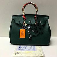 Кожаная брендовая сумка 35 см Luxe класса брелки
