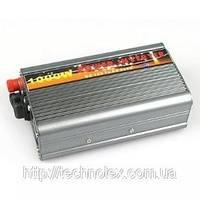 Преобразователь, инвертор  12V/220V  (1000W)