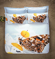 Постельное белье Luoca Patisca 3D сатин - Perfect Butterfly