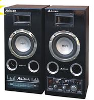 """Акустическая система AILIANG USBFM-51DC, колонки 5""""+5"""" USB/SD/FM/DC12V/remote, музыкальные колонки"""