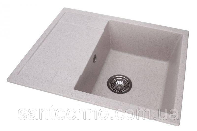Гранітна плита, мийка з крилом Argo Stella Terra 650*500*200