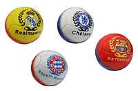 Мяч футбольный Football Club 8090 №5: 4 цвета, синтетическая кожа