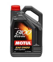 Синтетическое моторное масло Motul 8100 ECO-LITE 0W20